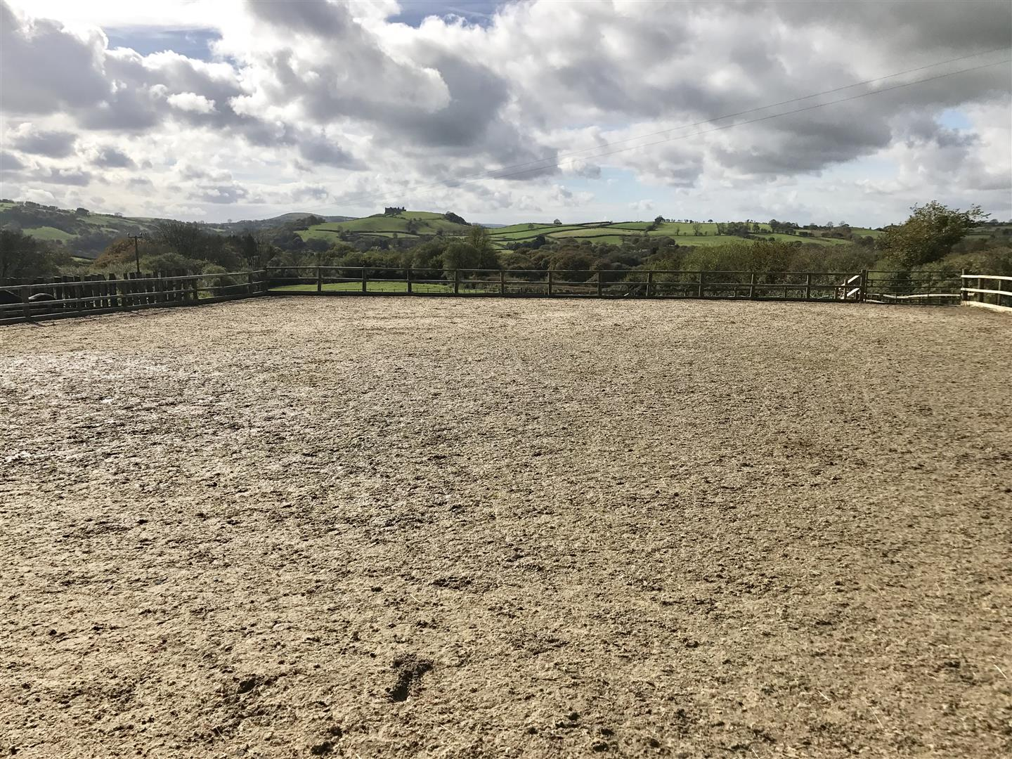 SAND EXERCISE YARD